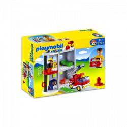 Playmobil - Hordozható tűzoltóállomás - 6777 - Playmobil - Építőjátékok