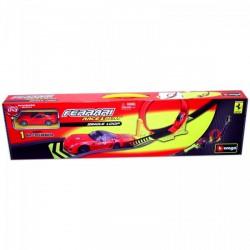 Bburago - Ferrari halálkanyar pálya 1:43 Játék - Burago autós szettek, autók