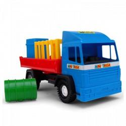Wader - Mini platós kamion Játék - Bébijátékok