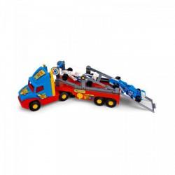 Wader - Szuper kamion Forma 1-es autóval - Wader játékok - Bébijátékok