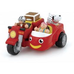 WOW Max oldalkocsis motorkerékpárja - Wow bébi játékok - Bébijátékok WOW