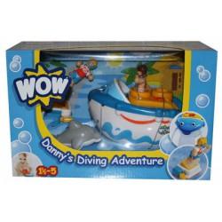 WOW Danny búvárhajója Játék - Bébijátékok WOW