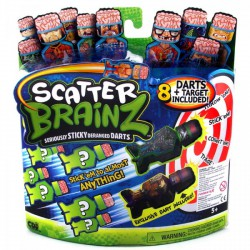 Agymenők - Scatter Brainz darts 8 db-os készlet AGYMENŐK