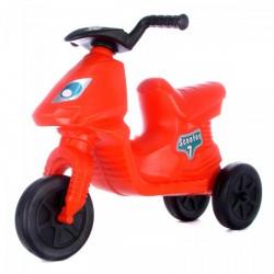 Műanyag Scooter lábbal hajtós robogó - piros - Járművek - Járművek