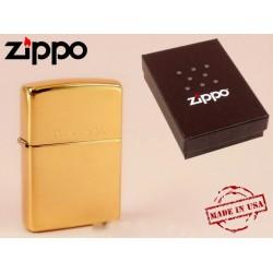 Zippo öngyújtó Solid Brass 254 -Dohányosoknak meglepik - Dohányosoknak meglepik