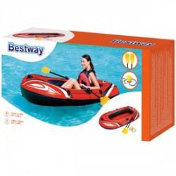 Bestway felfújható gumicsónak evezővel és pumpával 198x122cm - BESTWAY strandcikkek - BESTWAY strandcikkek Bestway