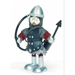 Le Toy Van - Budkins Archibald, a lovag fa figura - Fajátékok fiúknak - Fajátékok