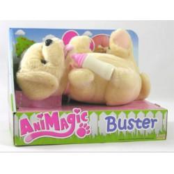 Animagic - újszülött kedvencek drapp kutya - Lányos játékok - Animagic játékok