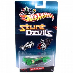 Hot Wheels - HW: Stunt Devils kaszkadőr autók - Bad To The Blade kisautó - HOT Wheels pályák - HOT Wheels pályák