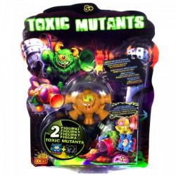 Toxic Mutants - 2 db-os mutáns csomag - TOXIC Mutants figurák - Plüss és állat,-mesefigurák