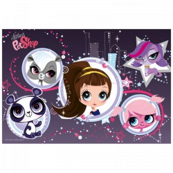 TREFL Littlest PetShop - Picurka 160 db-os puzzle - Littlest PetShop - Kirakók, puzzle-ok Littlest PetShop