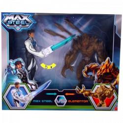 Max Steel - Max Steel és Elementor világító akciófigura - Max steel - Max steel