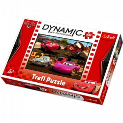 TREFL Verdák 2 - 50 db-os dynamic puzzle - TREFL puzzleok - Kirakók, puzzle-ok