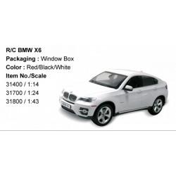 Rastar - Távirányítós autó 1:14 BMW X6 RASTAR - Pályák, kisautók Rastar