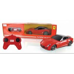 Rastar - Távirányítós autó 1:24 Ferrari 599 GTO fekete RASTAR - Pályák, kisautók