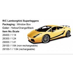 Rastar Távirányítós autó 1:24 Lamborghini Superleggera RASTAR - Pályák, kisautók Rastar
