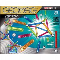 Geomag Glitter Csillámos mágneses építőjáték készlet - 30 darabos - Geomag építőjátékok - Építőjátékok Geomag