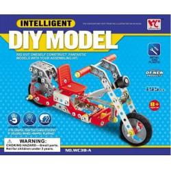 Fémépítő - Motor Intelligent Model 195 db alkatrész - Építőjátékok - Építőjátékok