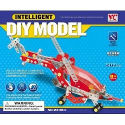 Fémépítő - Intelligent Helikopter 204 darabos fém építőjáték - Fémépítők - Építőjátékok