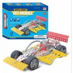 Fémépítő - Intelligent versenyautó 195 db - Építőjátékok - Építőjátékok