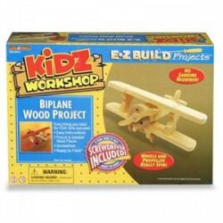 Fa szerelhető repülőgép - Építőjátékok - Építőjátékok