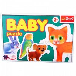 TREFL Állatok - bébi puzzle Játék - Kirakók, puzzle-ok