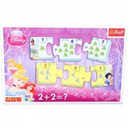 TREFL Disney hercegnők - összeadás puzzle - PUZZLE játékok - Kirakók, puzzle-ok
