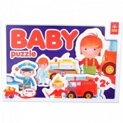 TREFL Foglalkozások - bébi puzzle - TREFL puzzleok - Kirakók, puzzle-ok
