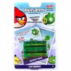 Angry Birds - Gyurma madár készítő szett - malac - ANGRY BIRDS - ANGRY BIRDS