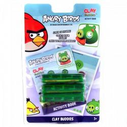 Angry Birds - Gyurma madár készítő szett - malac nagypapa ANGRY BIRDS - Plüss és állat,-mesefigurák