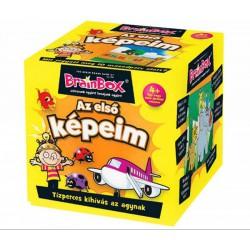 Brainbox Első képeim társasjáték - Brainbox társasjátékok kicsiknek - Brainbox társasjátékok kicsiknek Brainbox