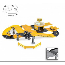 Wader - Kid Cars 3D Autópálya építési szett (3,7m) 53340 - Wader játékok - Bébijátékok Wader