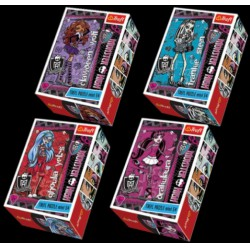 Monster High - 54 db-os miniatűr puzzle - Clawdeen Wolf - Monster High babák, játékok - Kirakók, puzzle-ok