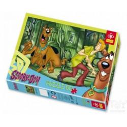 Trefl - 60 L Scooby Doo a Kísértet házban - PUZZLE játékok - Kirakók, puzzle-ok