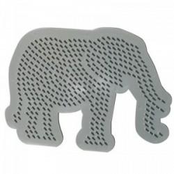 SES - Gyöngyképsablon-elefánt vasalható gyöngyökhöz - SES kreatív játékok - SES kreatív játékok