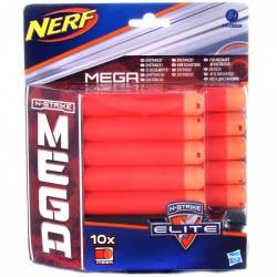 NERF N-Strike Elite - Mega lőszer utántöltő készlet - 10 db - Hasbro játékok - Hasbro játékok