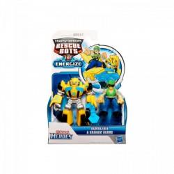 Transformers - Rescue Bots mini robotok - Bumblebee és Graham Burns - Transformers játékok - Hasbro játékok