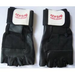 Fitness kesztyű bőr M méret - Sportfelszerelés - Sportfelszerelés