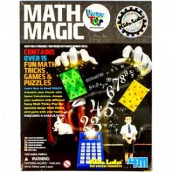 Kidz Labs - Varázslatos matematika - 4M tudományos szett - Tudomány és kreatív játék - KIDZ Labz játékok