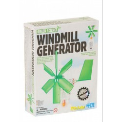4M Szélmalom generátor összeépíthető szett - Tudomány és kreatív játék - KIDZ Labz játékok