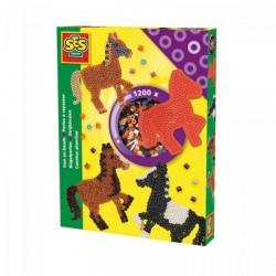 SES - LOVAS GYÖNGYKÉP KÉSZLET 00758 - Lányos játékok - Lányos játékok
