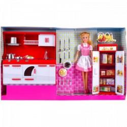 Defa Lucy baba konyhája 30 cm babával - Defa Lucy babák és kiegészítők - Defa Lucy babák és kiegészítők Defa Lucy