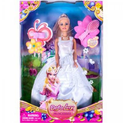 Defa Lucy 30 cm hercegnő baba, kiegészítőkkel - Defa Lucy babák és kiegészítők