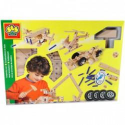 SES - Fa építőjáték nagy szett 14946 - Barkácsolós játékok - Barkácsolós játékok