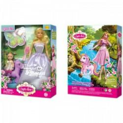 Defa Lucy hercegnő baba kislánnyal és pónival többféle változatban - Defa Lucy babák és kiegészítők - Defa Lucy babák és kiegészítők Defa Lucy