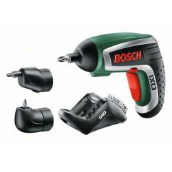 BOSCH IXO IV Upgrade full akkus csavarozó, sarok- és excenteradapterrel - Barkácsgépek - Barkácsgépek Bosch