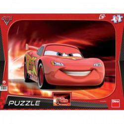 DINO - Puzzle 12 db, keretes - Verdák 2 DINO PUZZLE, TÁRSASJÁTÉKOK
