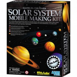 4M Kidz Labs - Naprendszer készítő szett, világít a sötétben - Tudomány és kreatív játék - KIDZ Labz játékok
