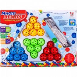 Magic Beads golyós építőjáték - Építőjátékok - Építőjátékok