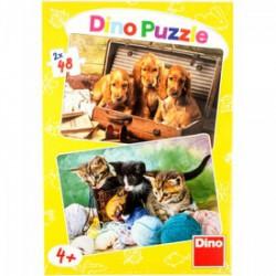 DINO - Puzzle 248 db - Kiskutyák és cicák - PUZZLE játékok - Dino puzzle, társasjátékok